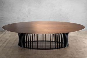 MBH INTERIOR - aeolion ovale 300 - Oval Dining Table