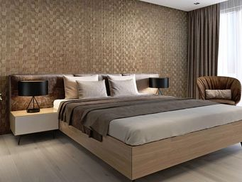 Wooden Wall Design -  - Cabinet Panel