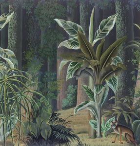 Ananbô - bornéo couleur - Panoramic Wallpaper