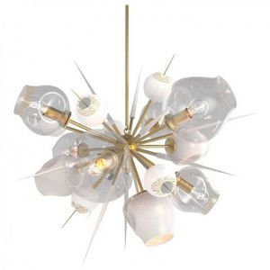 ALAN MIZRAHI LIGHTING - jt262 burst - Multi Light Pendant