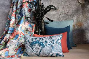 LALIE DESIGN - panama bleu - Fabric By The Metre