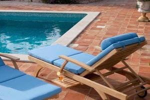 Barlow Tyrie - capri lounger - ultra - Garden Deck Chair