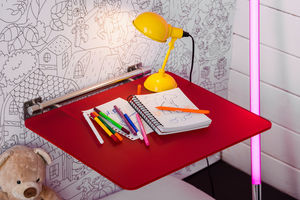 OSO SYSTEM - plexi rouge - Children's Desk