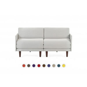 Likoolis - pacduo80m-filolightgrey - Daybed
