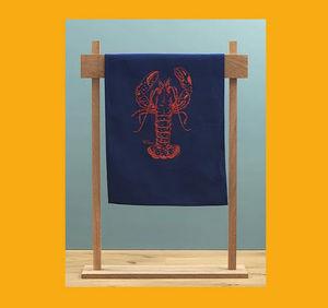 Le Minor - homard - Tea Towel