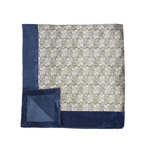 OTSUKI SAMA - maekake « chrysanthèmes - Quilted Blanket