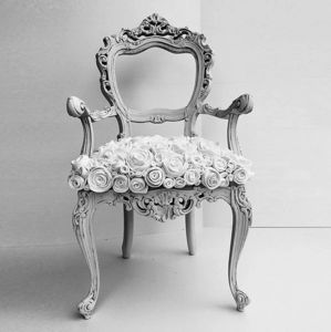 13 RiCrea - chaise baroque - Themed Decoration