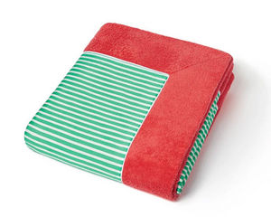 CAP D'ARSÈNE - escale rayé vert - Beach Towel