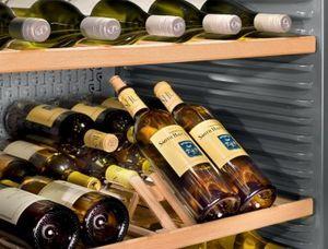 Liebherr -  - Wooden Wine Bottle Rack