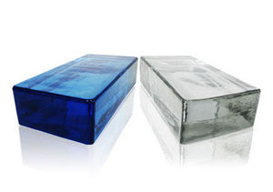 Rouviere Collection - briques pleines vetropieno - Straight End Glass Block