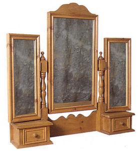 HONEYCOMB PINE -  - Triple Mirror