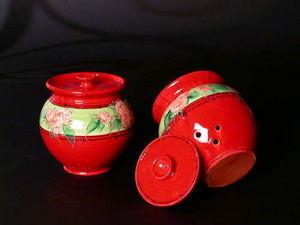 Poterie Galtie - pot à ail - Garlic Pot
