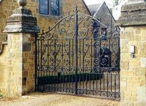 Cotswold Decorative Ironworkers -  - Entrance Gate