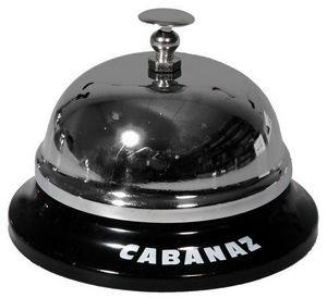 PUHLMANN - sonnette de table noire - Reception Bell