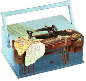 Rascol - peinte à la main - Sewing Box