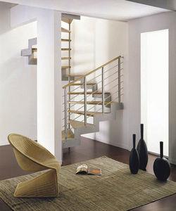NOVALINEA - laser tube - Spiral Staircase