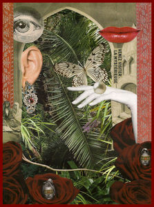 Caroline  de Sars - turquerie - Customized Portrait