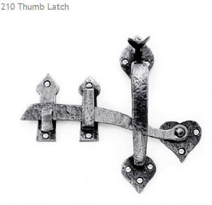 LOUIS FRASER -  - Thumb Latch