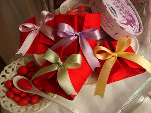 RICAMERIA MARCO POLO - bustine per bomboniere laurea - Marriage Candy Box