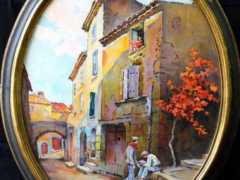 Antiquités Passion -  - Watercolour