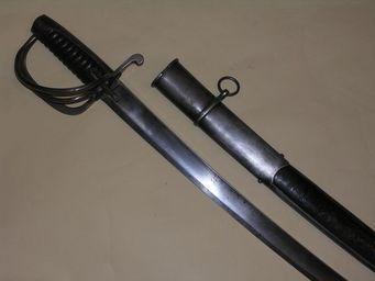 Aux Armes d'Antan - sabre de hussard allemand, début du xixème siècle - Sabre