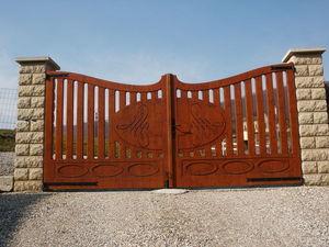 Découp'Bois - maison - Entrance Gate