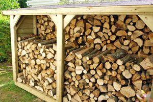 CERISIER -  - Fire Wood Shed