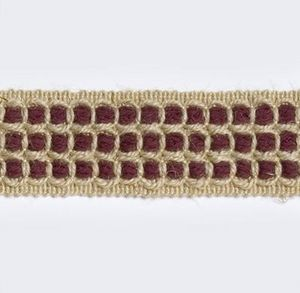 CASTILLA RIENDA -  - Embroidered Border