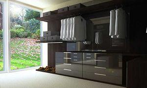 Furniture Craft International - walk - in wardrobes - Straight Walk In Closet