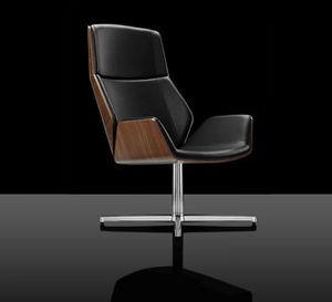 Boss Design - kruze lounge - Swivel Armchair