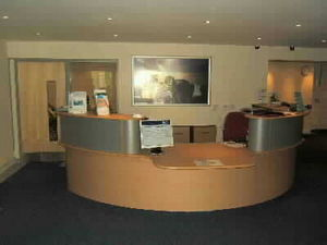 Hml (office Furniture) - receptions - Reception Desk