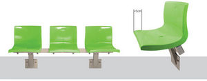 Ferco Seating Systems - arc shell - Waiting Area Chair
