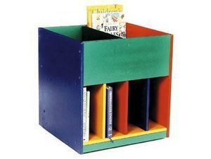 Evertaut - mobile book trolley - Movable Children's Storage Furniture