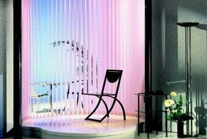 Techniblinds -  - Blind With Vertical Stripes