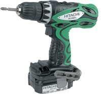 Hitachi Power Tools - ds14dfl 14.4v drill/driver - Wireless Drill