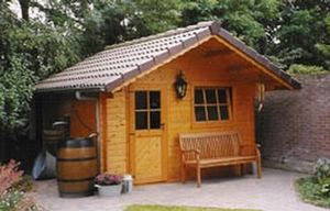 Sge Bois -  - Wood Garden Shed