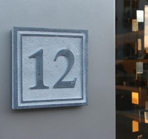 La Pierre - square 4 - House Number