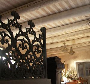 Les Plafonds De L'isle -  - Solid Beam