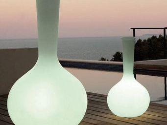 VONDOM - vase vondom chemistubes flask, led rgb - Illuminated Pot
