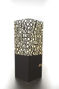 W-LAMP - jfk speech - Table Lamp