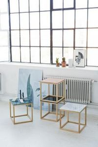 KRISTINA DAM STUDIO -  - Square Coffee Table
