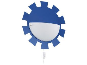 Eglo - applique enfant leonie bleu avec interrupteur - Children's Bedside Light