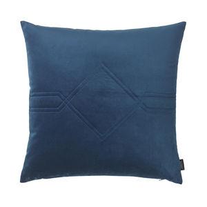 LOUISE ROE COPENHAGEN - diamond cushion royal blue - Square Cushion
