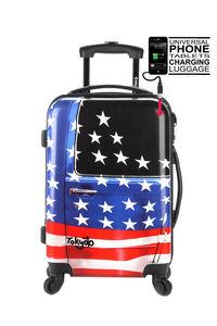 TOKYOTO LUGGAGE - american door - Suitcase With Wheels