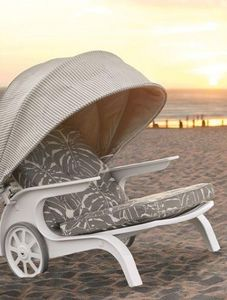 Zinc textile - plage outdoor-- - Fabric For Exteriors
