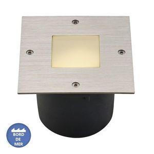 SLV - spot encastrable sol wetsy inox 316 ip67 l13 cm - Floor Lighting