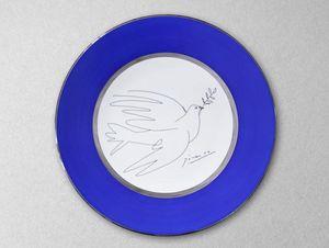 MARC DE LADOUCETTE PARIS - la colombe-- - Dinner Plate