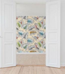 THEVENON - palmy fond lin - Wallpaper