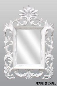 DECO PRIVE - miroir beauty blanc sculpte - Mirror
