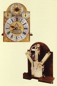JOHN CARLTON-SMITH - william moore, london - Small Clock